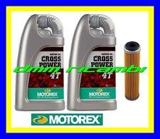 Kit Tagliando BETA 520 RR ENDURO 10>14 + Filtro Olio MOTOREX Cross Power 10W50