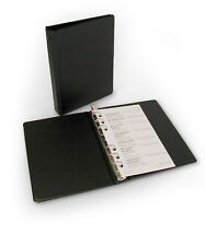 3 3/4 x 6 3/4 Small 6 Ring Binder