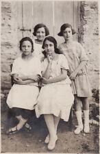 * PONZANO - Foto - Giardino Boschi - Ragazze 1925