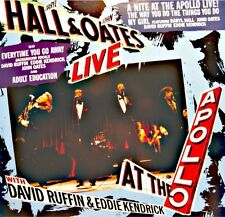 HALL & OATES with DAVID RUFFIN & EDDIE KENDRICK live at the apollo MAXI 1985 VG+
