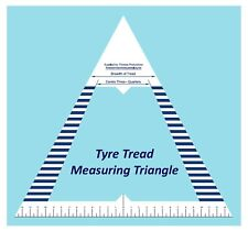Tyre Tread Measuring Triangle - Essentail for all MOT Garages & Tyre Fitters