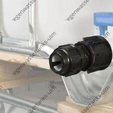 IBC Adapter, Grobgewinde S60x6 für 32mm Rohr Klemmverbindung #1500
