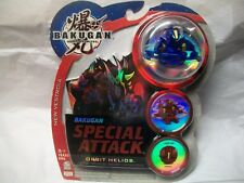 BAKUGAN ORBIT HELIOS Special Attack Spin Blue Aquos New Vestroia New with cards