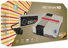 Hyperkin RetroN 1 HD Gaming Console for NES - Grey [Retro Console, NTSC PAL] NEW