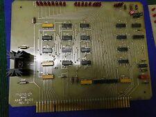 Monarch Machine Tool Printed Circuit Board Assy # 50402