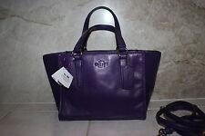 Brand New Genuine Coach Purple Leather Mini Crossbody shoulder bag