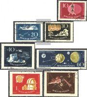 Ungarn 1571A-1577A (kompl.Ausg.) gestempelt 1959 Geophysikalisches Jahr