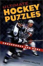 Ultimate Hockey Puzzles: Crosswords and More, Milito, John, Good Book