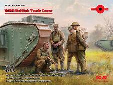 ICM 1/35 WWI British Tank Crew # 35708