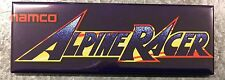 Alpine Racer Arcade Game Marquee Fridge Magnet