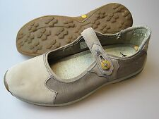 TIMBERLAND Smart Wool Mary Jane Tan Leather Shoes Women's Size 8.5 Medium