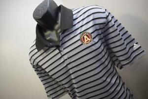 42327 Mens Adidas Golf Atlanta United Short Sleeve Golf Polo Shirt Size XL
