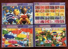 "4 Cra-Z-Art Puzzlebug 300 Piece Jigsaw Puzzles 18.25"" x 11"" Brand New Lot G"