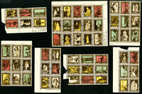 Great Britain Lot of 60 Early Mint Coronation Labels