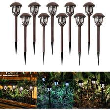 Al aire libre luz LED Solar Jardín Lámpara Impermeable de paisaje para Césped Patio Paseo
