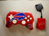 Rare Buffalo Bills NFL Mad Catz PS 2 Playstation 2 Controller Wireless
