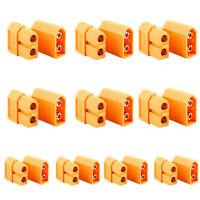10pcs Bullet Connectors Plugs Male&Female Amass XT60 Plug For RC Lipo Battery HK