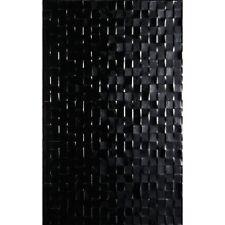 SAMPLE BCT Studio Hartland Black Pressed Mosaic Wall Tiles (NOT FULL TILE)