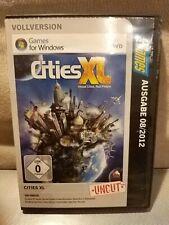 Cities XL PC Games Ausgabe