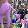 Women Sports Pants Butt Lift Yoga Fitness Leggings Running Gym Stretch Trousers