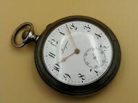 "Elegant and ""aristocratic"" Antique Longines cal.18.49 pocket watch Enamel dial"
