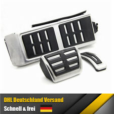 Footrest Audi A6 4G C7 RS6 RS7 Pedalset S-Line Pedale S6 Pedalkappen Fußstütze
