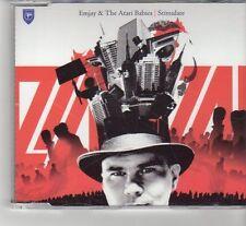 (FR548) Emjay & The Atari Babies, Stimulate - 2006 DJ CD