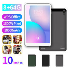 """10"""" Ultra-thin 4G Android 9.0 8+64G WIFI Dual SIM Triple Camera Tablet PC"""