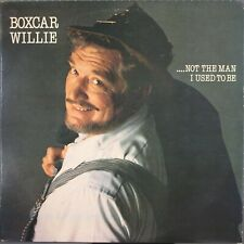 Boxcar Willie Not the Man I used to Be LP 1983 Main Street MS-9309