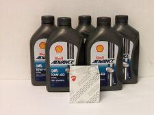 Shell Advance vollsyn 10W-40 / Original Ölfilter Ducati 1200 Multistrada ab 10