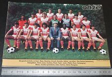 CLIPPING POSTER FOOTBALL 1985-1986 D2 AS BEAUVAIS MARISSEL ASBM PIERRE-BRISSON
