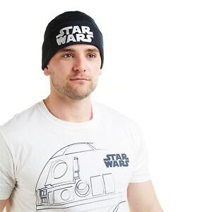 Star Wars Mens - Beanie Hat - Navy - One Size