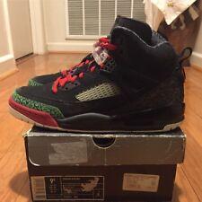 "Good Condition 2007 Air Jordan Spizike ""Black Green Red"" sz 9.5 OG"