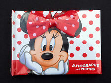 DISNEY Parks AUTOGRAPH and PHOTO Book MINNIE MOUSE (Sealed) NEW