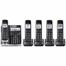 Panasonic KX-TG885SK Bluetooth 5 Handset Phone Land Line HD Link2Cell Telephone