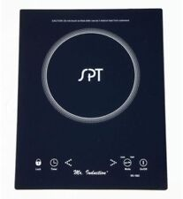 Countertop Built-in Induction Cooktop Micro-Crystal Ceramic Plate 1650-W Black