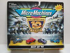 Micro Machines Best of '90 Corvair, Tucker, Pontiac Stinger, Porsche 944 No: 1/2