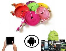 FAST Charging Micro USB Cable for Samsung Galaxy S5,S6,S7 Data Sync Braided Lead