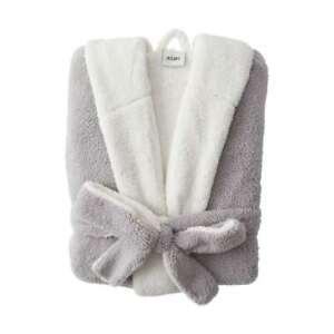 Sherpa Hooded  bathrobe