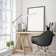 Architect Desk Lamp Work Reading Adjustable Folding Clip-on LED Swing Arm Light