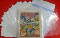 2000AD Judge Dredd Prog comic BAGS &  BOARDS for your issues x10 1st Rate New~