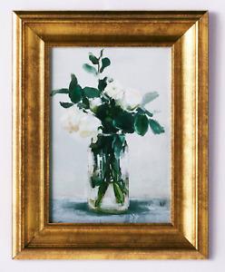Studio McGee X Threshold 11x14 Floral Arrangement Framed Wall Canvas Art Target