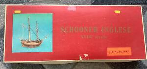 Steingraeber Schooner Inglese XV111 Secolo Wooden Boat Kit
