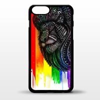 Gay pride rainbow flag LGBTQ Lion head pattern gift graphic art phone case cover