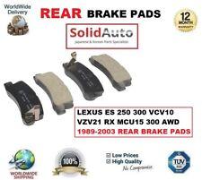 POUR LEXUS ES 250 300 VCV10 VZV21 RX MCU15 300 AWD 89-03 PLAQUETTE FREIN ARRIÈRE