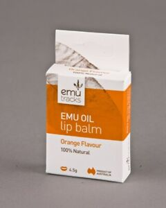 Emu Tracks Lip Balm Orange 4.5g