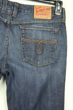 Lucky Brand Womens Lola Boot Stone Wash Blue Jeans Size 14/32
