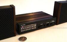 WORLDS SMALLEST HI-FI STEREO TINY LOUDSPEAKER CABINETS VINTAGE TRANSISTOR RADIO