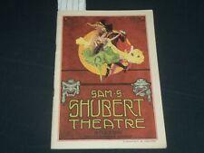 1918 THE COPPERHEAD SHUBERT THEATRE PROGRAM - LIONEL BARRYMORE - J 5675