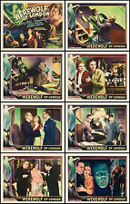 THE WEREWOLF OF LONDON With HENRY HULL Full Set Of 8 Individual 8x10 LC Prints